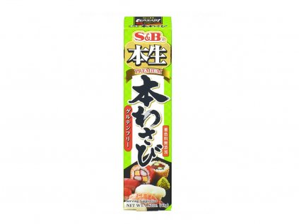 S&B Premium wasabi pasta 43g