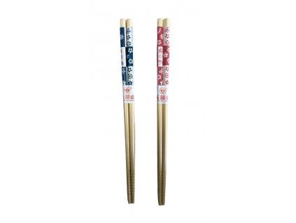 Dřevené hůlky 2 páry 22.5cm