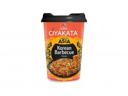 Oyakata Cup instantní korejská nudlová polévka BBQ 93g