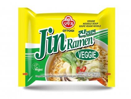 Ottogi Jin Ramen vegetariánská polévka nudle 120g