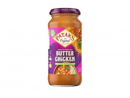 Patak's Butter Chicken máslové kuře kari omáčka 450g