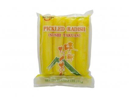Nakládaná žlutá ředkev 1kg