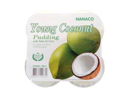 nanaco pudding young coconut 432g