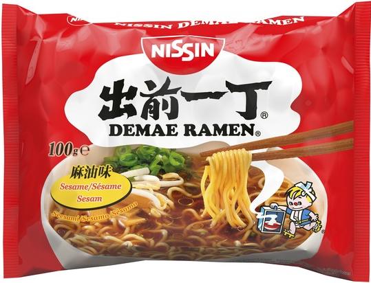 Nissin Damae Ramen instantní polévka se sezamovým olejem 100g