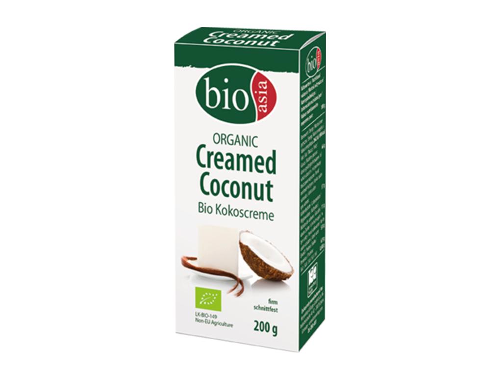Levně BIOASIA Bio kokosový krém 100% 200g