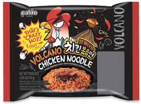 Paldo Volcano pálivé a pikantní kuře Hot & Spicy Chicken 140g