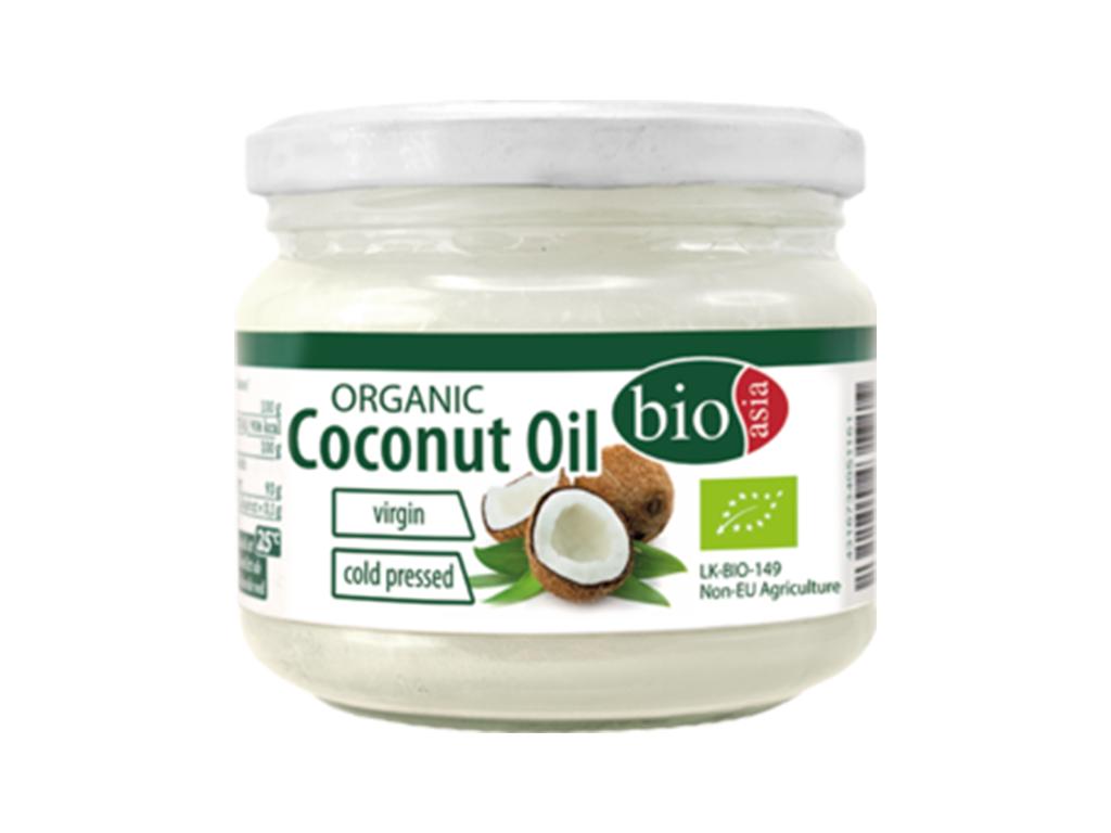 Levně BIOASIA Bio kokosový olej panenský 250ml