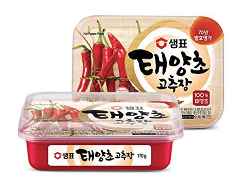 Sempio chilli pasta červená pálivá Gochujang 170g