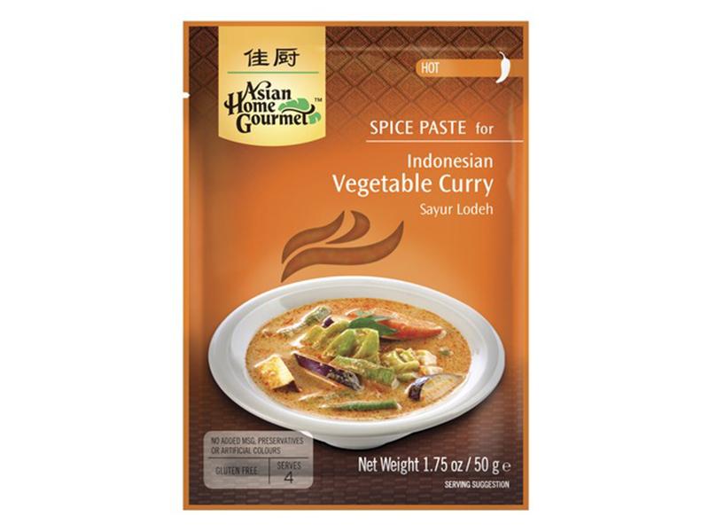 Sayur Lodeh pasta na indonéské zeleninové kari Asian Home Gourmet 50g