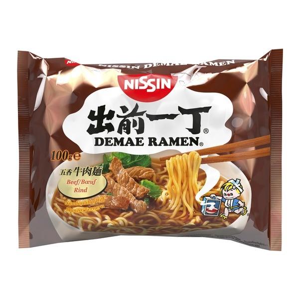 Nissin instantní Damae Ramen polévka hovězí 100g