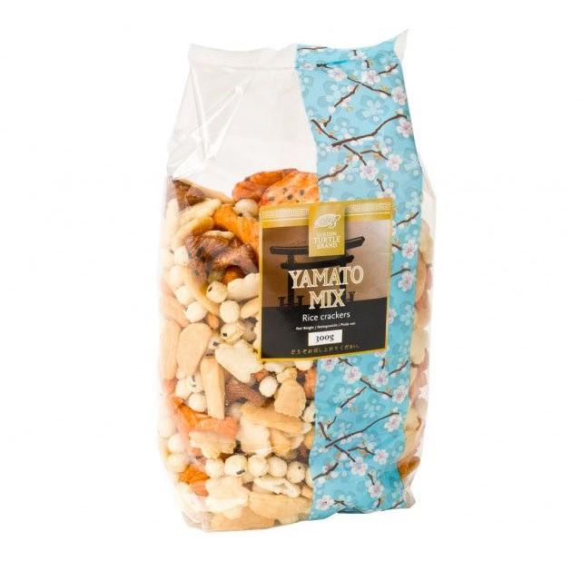 Levně Golden Turtle Yamato mix rýžových krekrů 300g