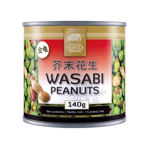 Golden Turtle arašídy ve wasabi 140g