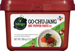 Bibigo chilli pasta červená pálivá Gochujang 500g
