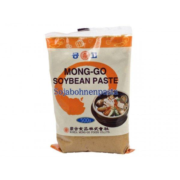 Levně Mong-Go Miso korejská fermentovaná sójová pasta světlá (Shiro) 500g