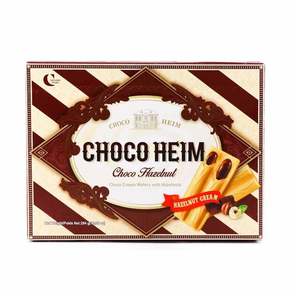 Crown Choco Heim korejské oplatky s lískooříškovým krémem 47g