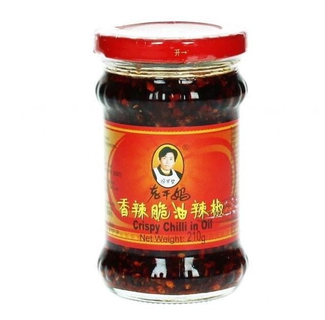 Křupavá cibulka v chilli oleji Lao Gan Ma 210g