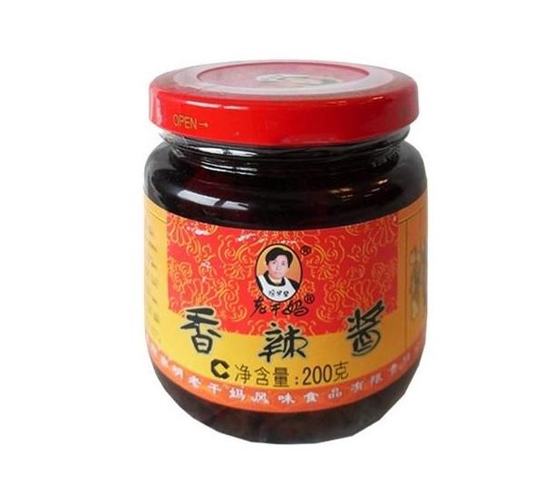 Fazolová pasta v chilli oleji Lao Gan Ma 210g