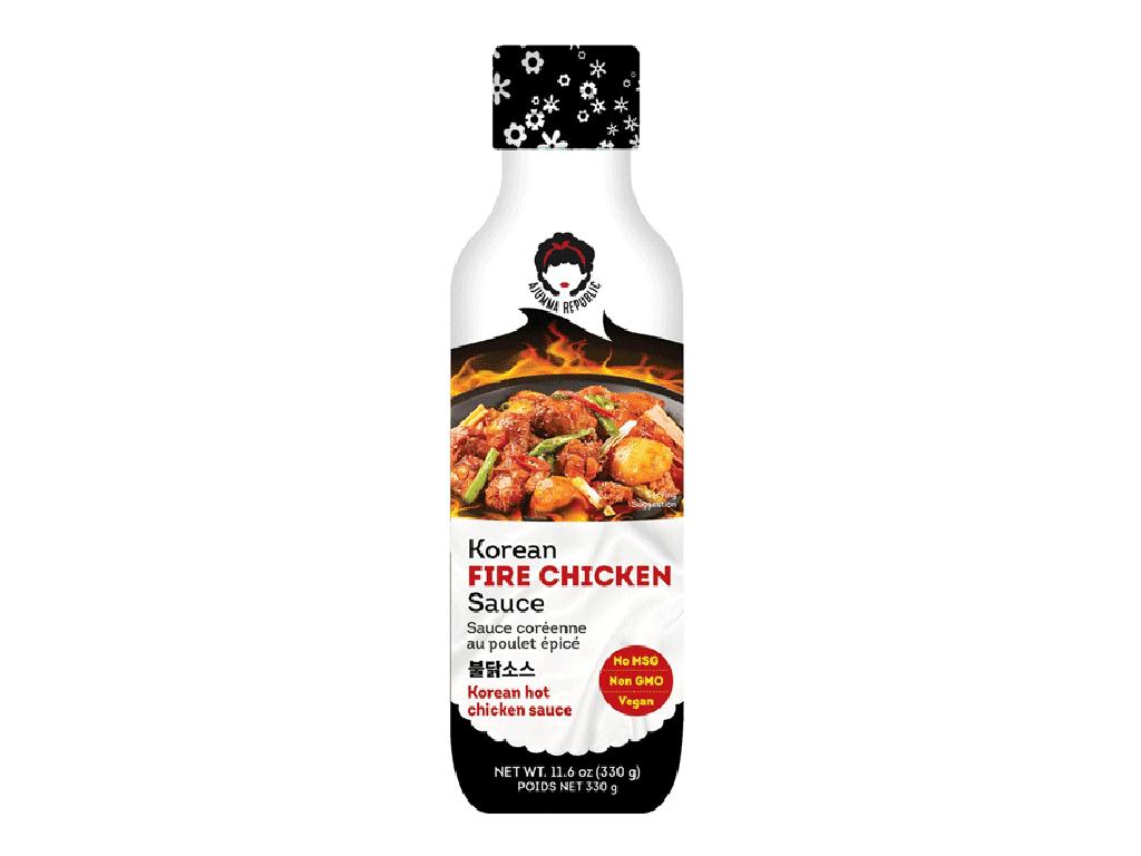 Ajumma Republic Korejská pikantní omáčka Fire Chicken Buldak 246ml