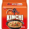 nongshim shin ramen kimchi multipack 5x120g