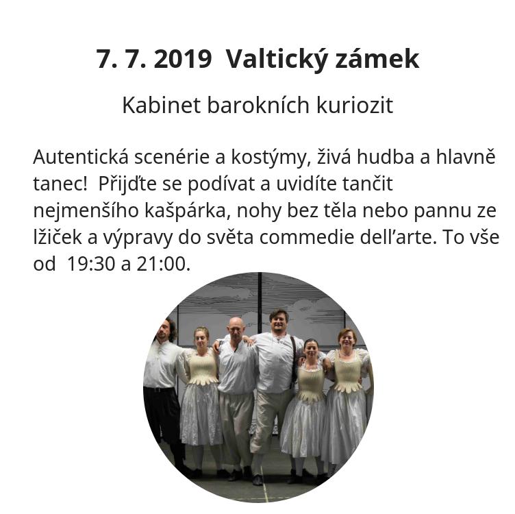 Kabinet barokních kuriozit - Valtice