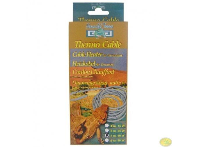 Topný kabel do terária 50W | délka 7 metrů