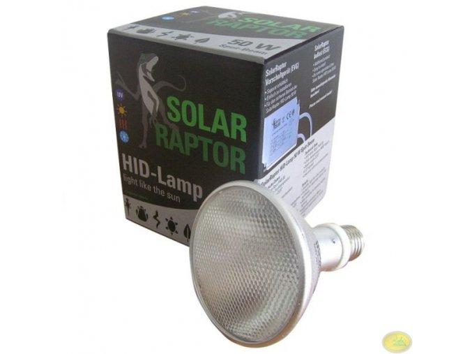 Lampa UVB 50W HID Spot Solar Raptor