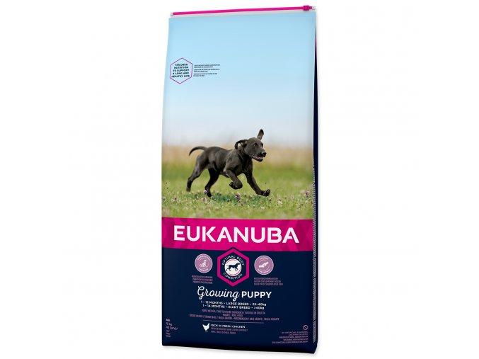Eukanuba granule pro štěňata velkých plemen