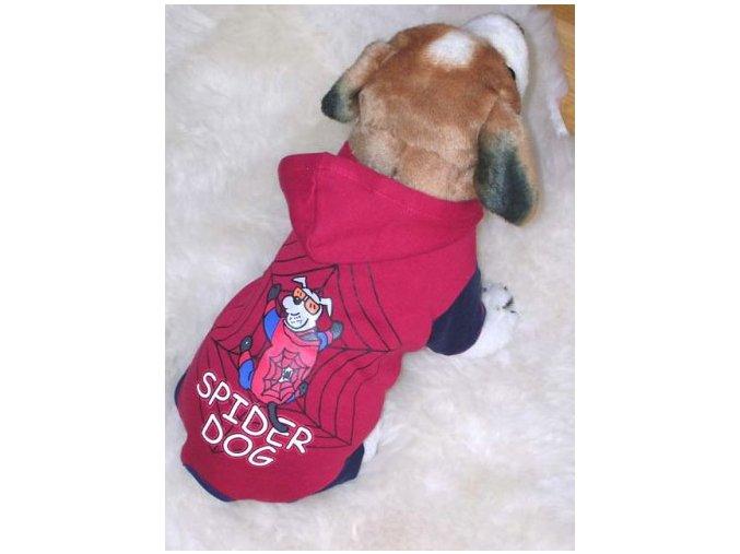 Obleček pro psa. Bavlněný overal s potiskem.