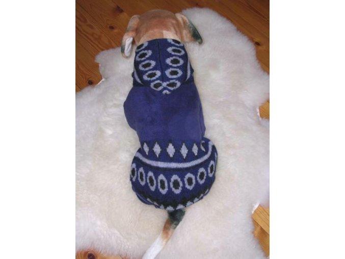 obleček pro psa modrý