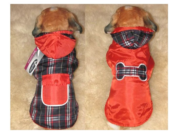 Oboustranný obleček pro psa | 40 cm