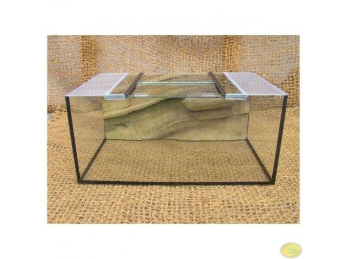 Testudárium malé | 65 x 40 x 30 cm s pozadím pro želvy