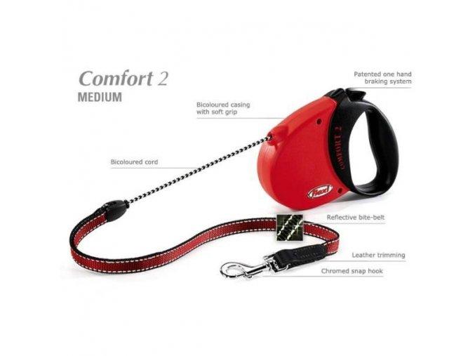 Vodítko Flexi Comfort Basic 2