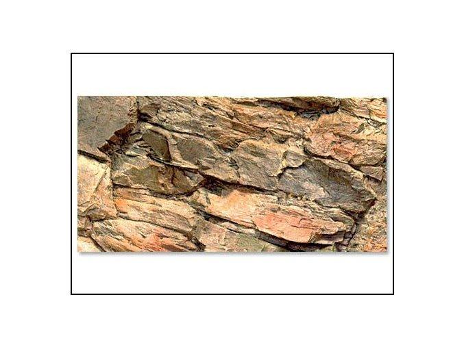 Pozadí akvarijní Rock | 60 x 30 cm