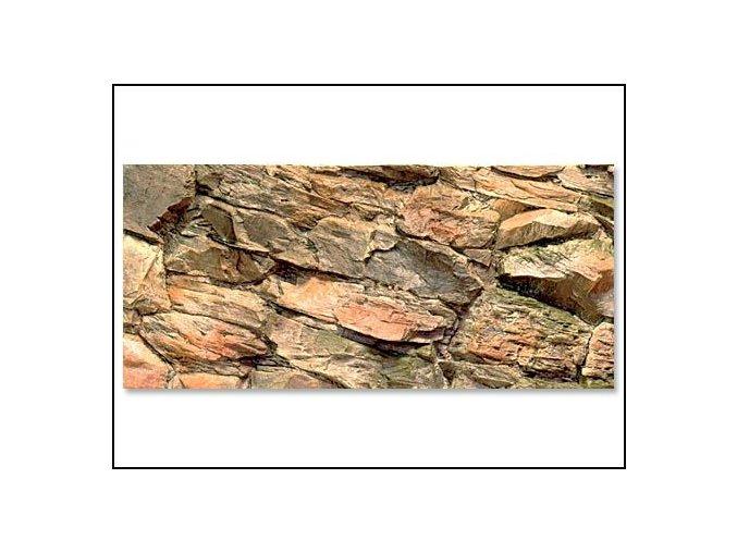 Pozadí akvarijní Rock | 80 x 40 cm