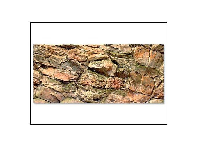 Pozadí akvarijní Rock 100 x 50 cm