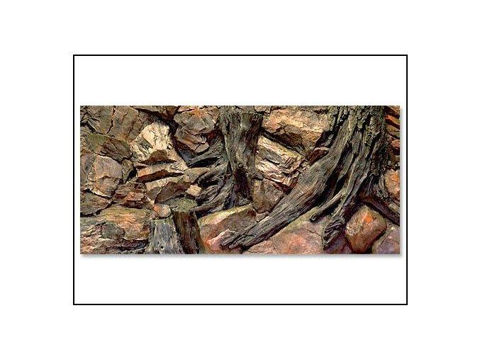 Pozadí akvarijní Root | 120 x 50 cm