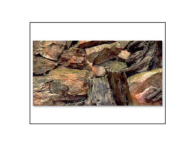 Pozadí akvarijní Root | 60 x 30 cm