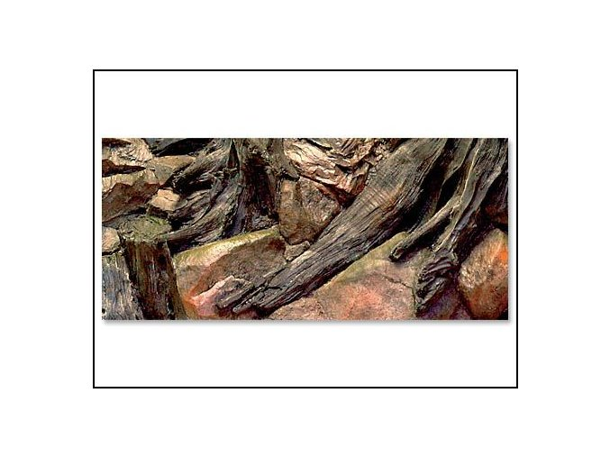 Pozadí akvarijní Root | 80 x 40 cm