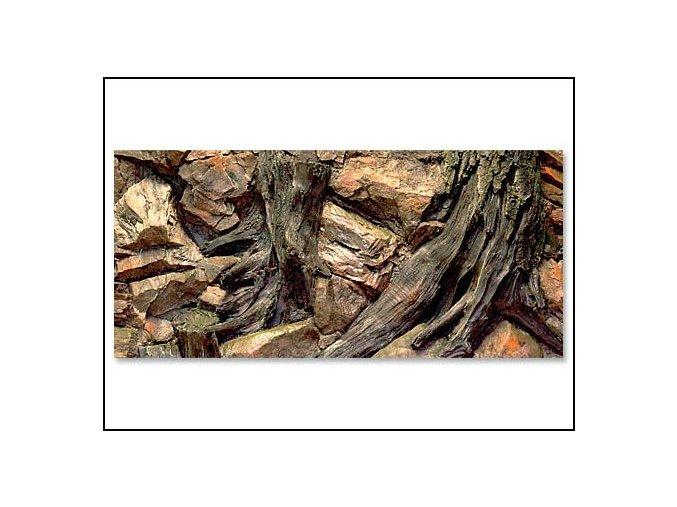 Pozadí akvarijní Root | 100 x 50 cm