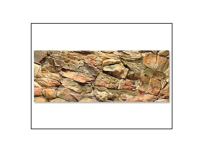 Pozadí akvarijní Rock | 120 x 50 cm