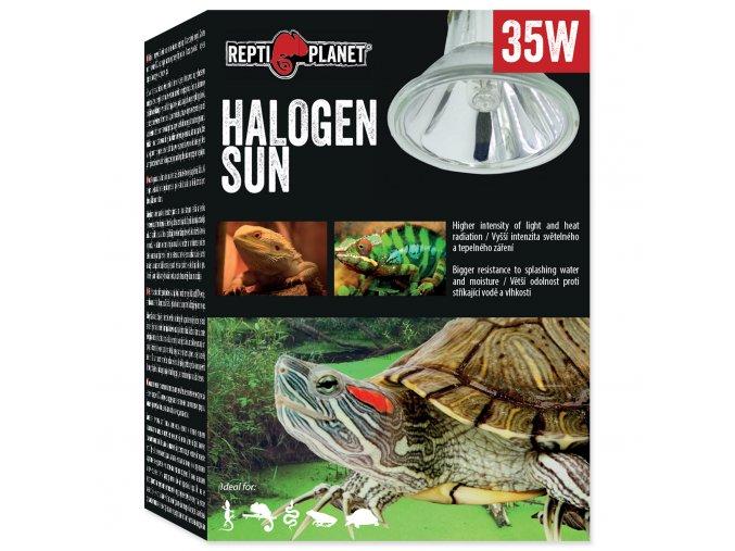 Žárovka REPTI PLANET Halogen Sun 35W