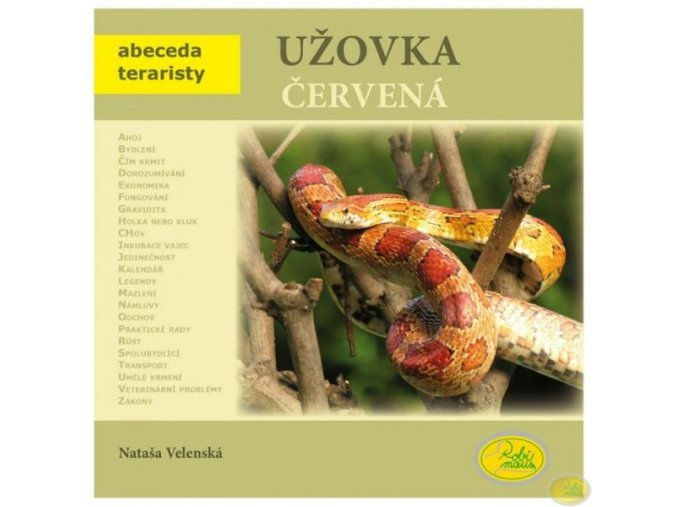 Užovka červená - Nataša Velenská