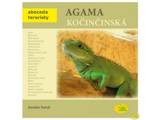 Kniha Agama kočičínská