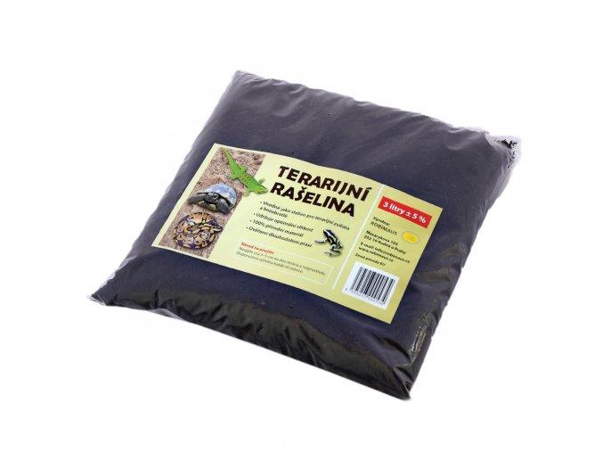 Rašelina terarijní 3 litry