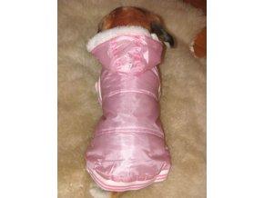 obleček pro psa růžový