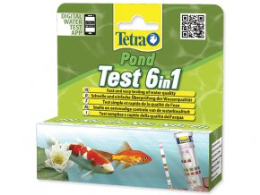 Tetra Pond Test 6 in 1 25ks