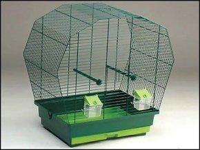 zelená klec pro ptáky
