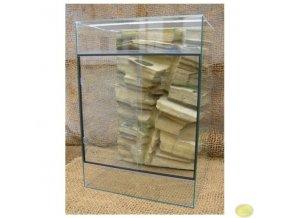 Terárium chameleon velké | 70 x 50 x 100 cm s pozadím