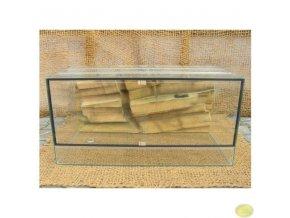 Terárium agama velké | 100 x 50 x 50 cm s pozadím