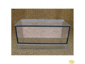 Terárium gekončík | 60 x 30 x 30 cm s pozadím